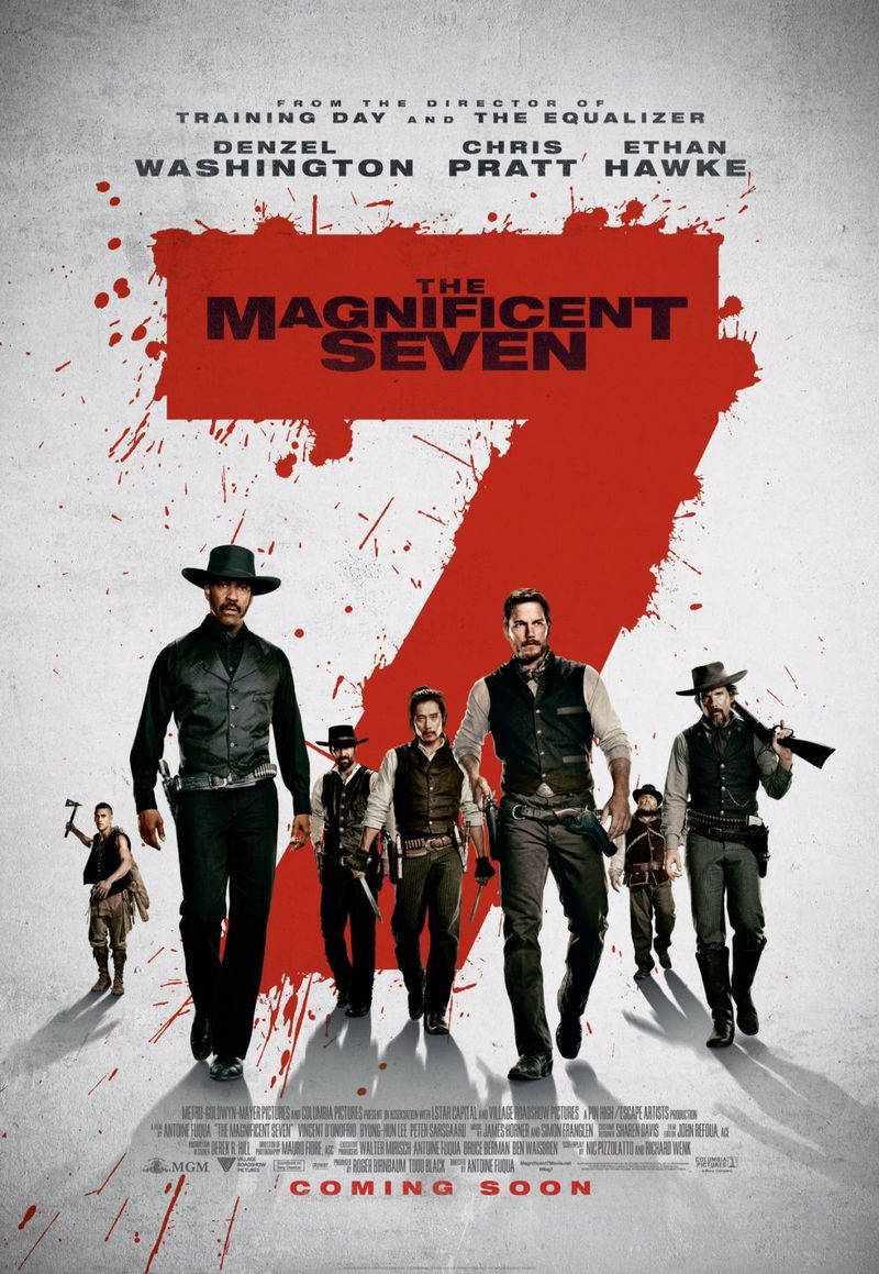 the magnificent seven dvd release date december 20 2016