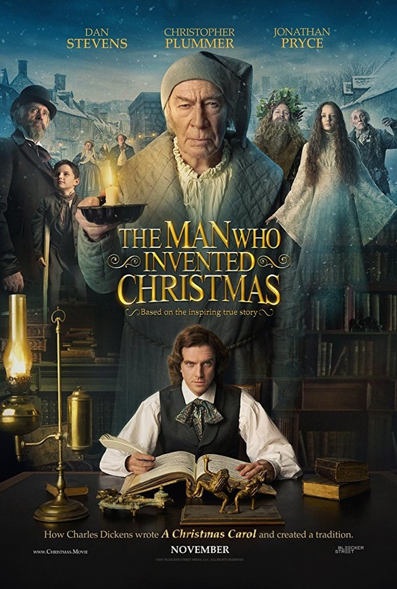 Image result for the man who invented christmas dvd cover
