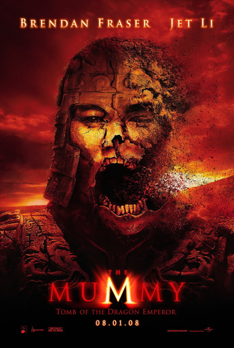 The Mummy: Tomb of the Dragon Emperor DVD Release Date ...