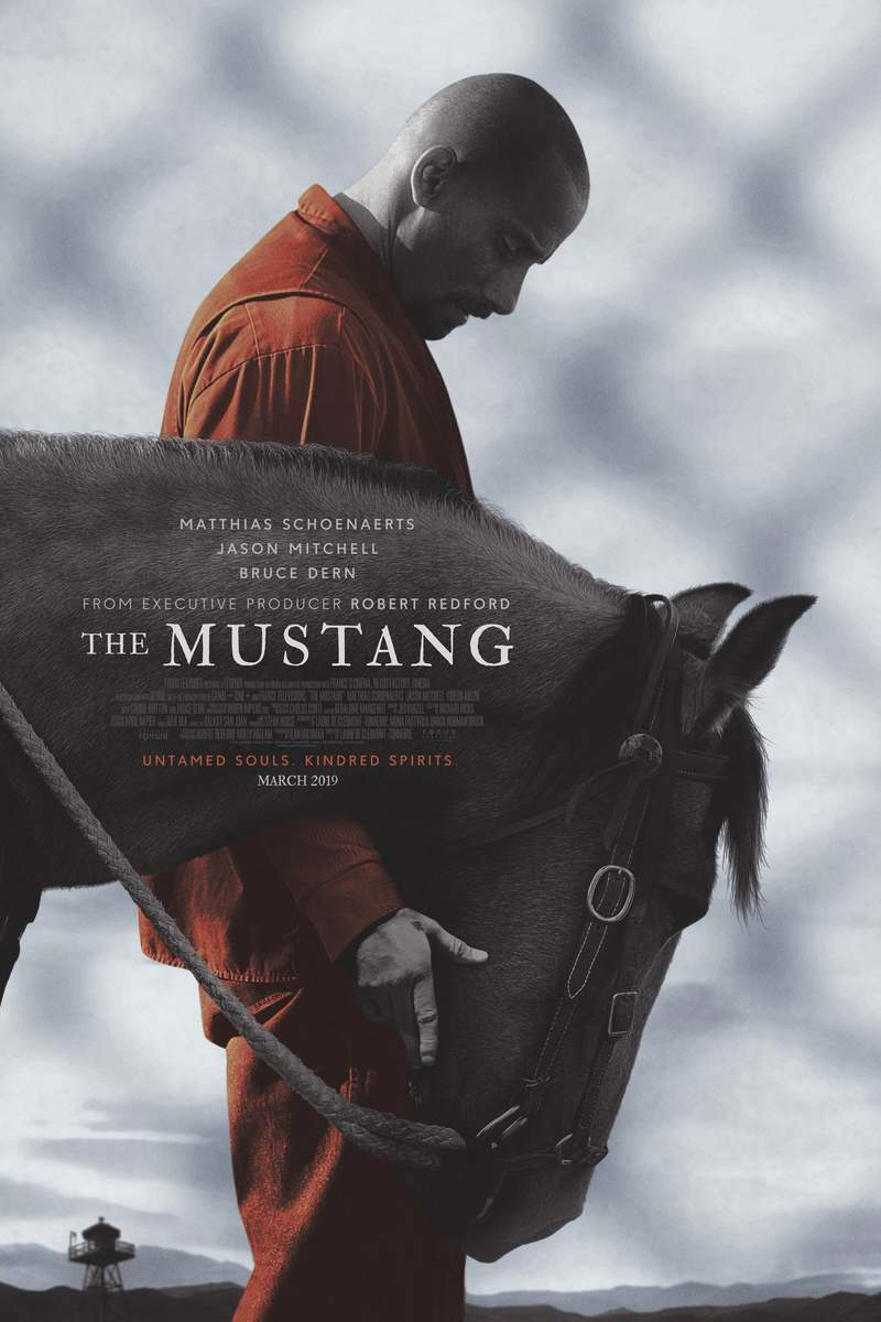 Movie Poster 2019: The Mustang DVD Release Date June 11, 2019