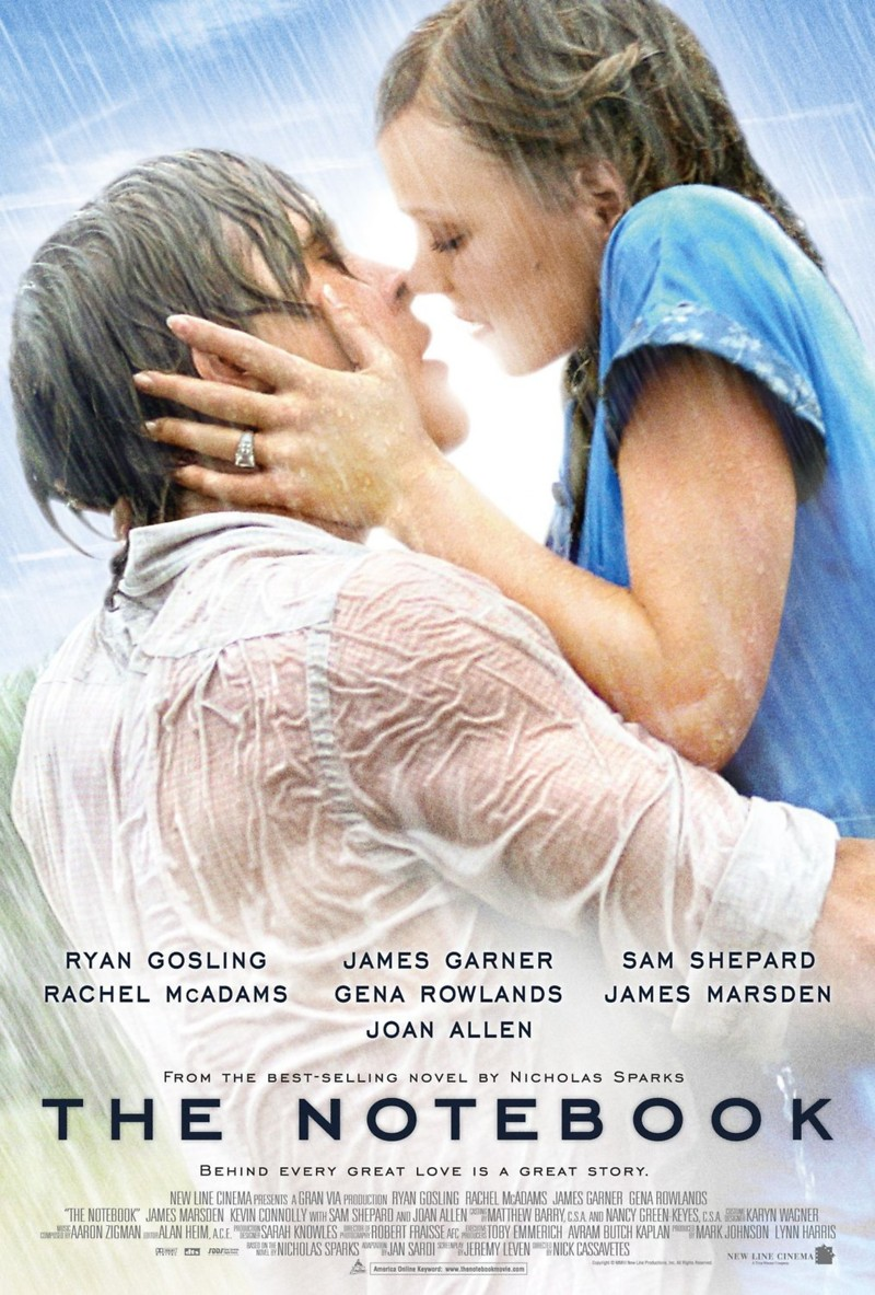 the notebook dvd release date  movie poster