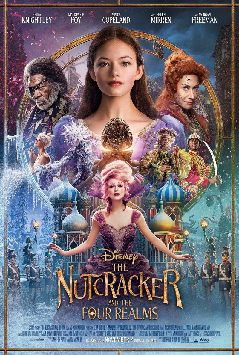 The Christmas Chronicles 2018 Dvd Cover.The Nutcracker And The Four Realms Dvd Release Date January