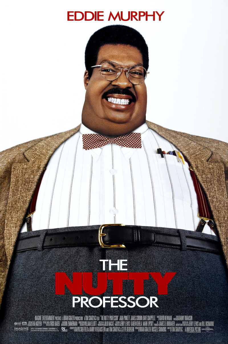 The Nutty Professor (1996) - Posters — The Movie Database ...
