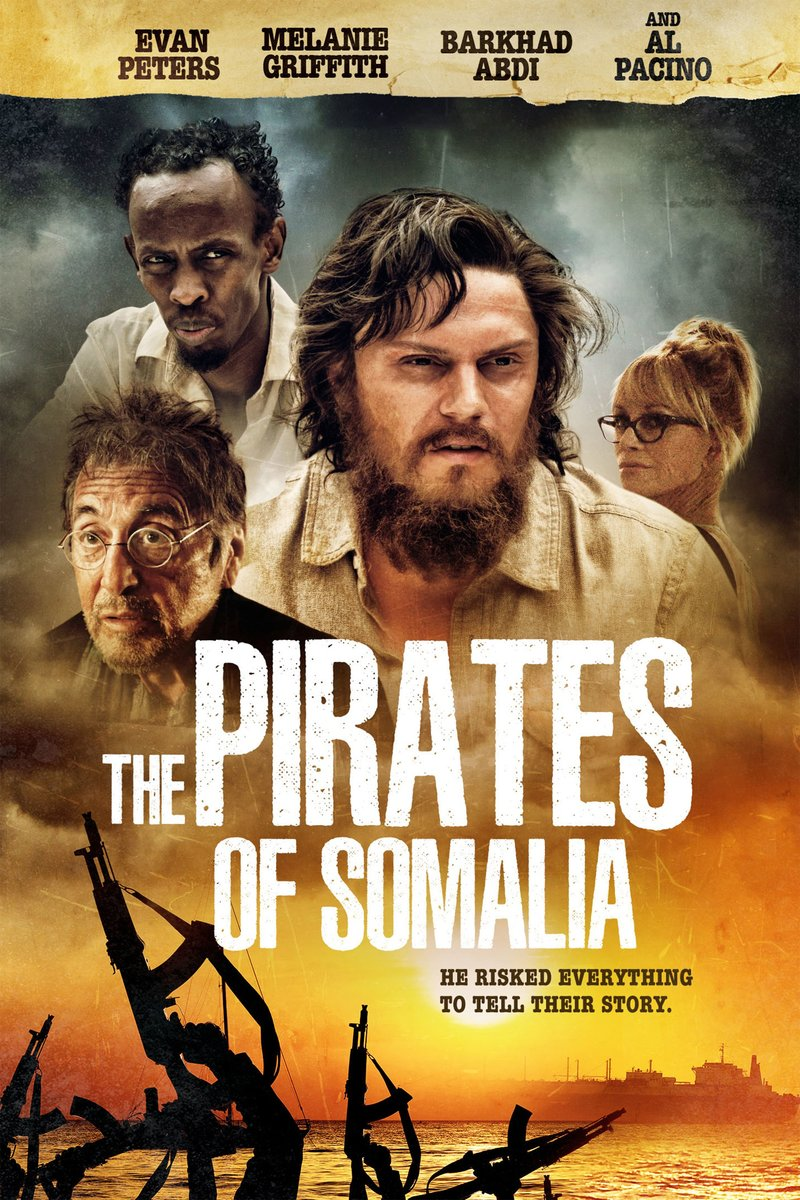The Pirates of Somalia DVD Release Date January 9, 2018