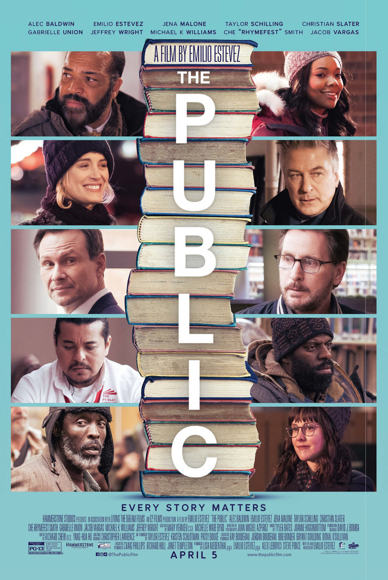 6 July 2018 Released Movie: The Public DVD Release Date July 2, 2019