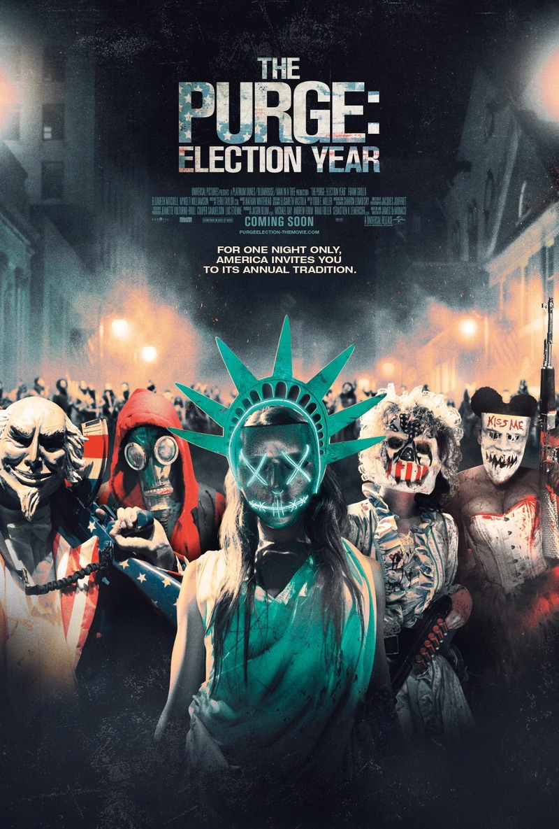 The Purge: Election Year DVD Release Date October 4, 2016