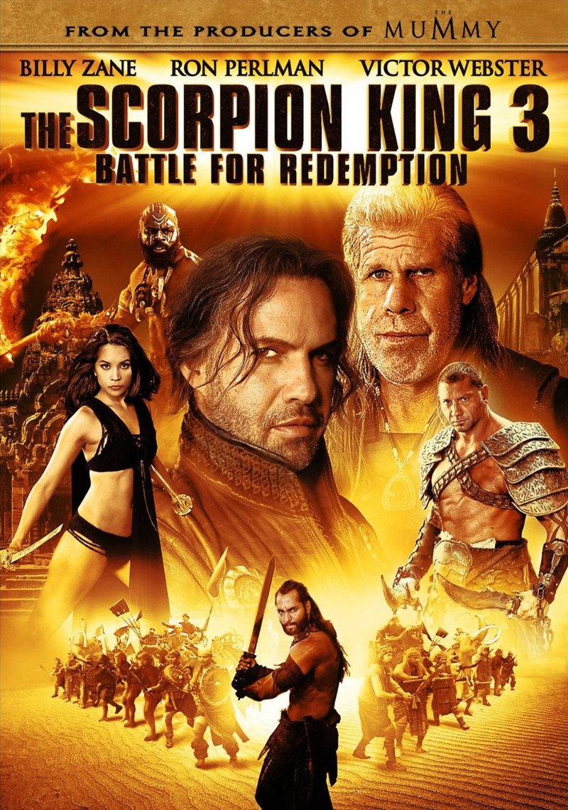 The scorpion king 3 battle for redemption the scorpion king 3 battle