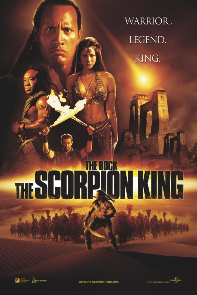 The Scorpion King DVD Release Date June 1, 2003
