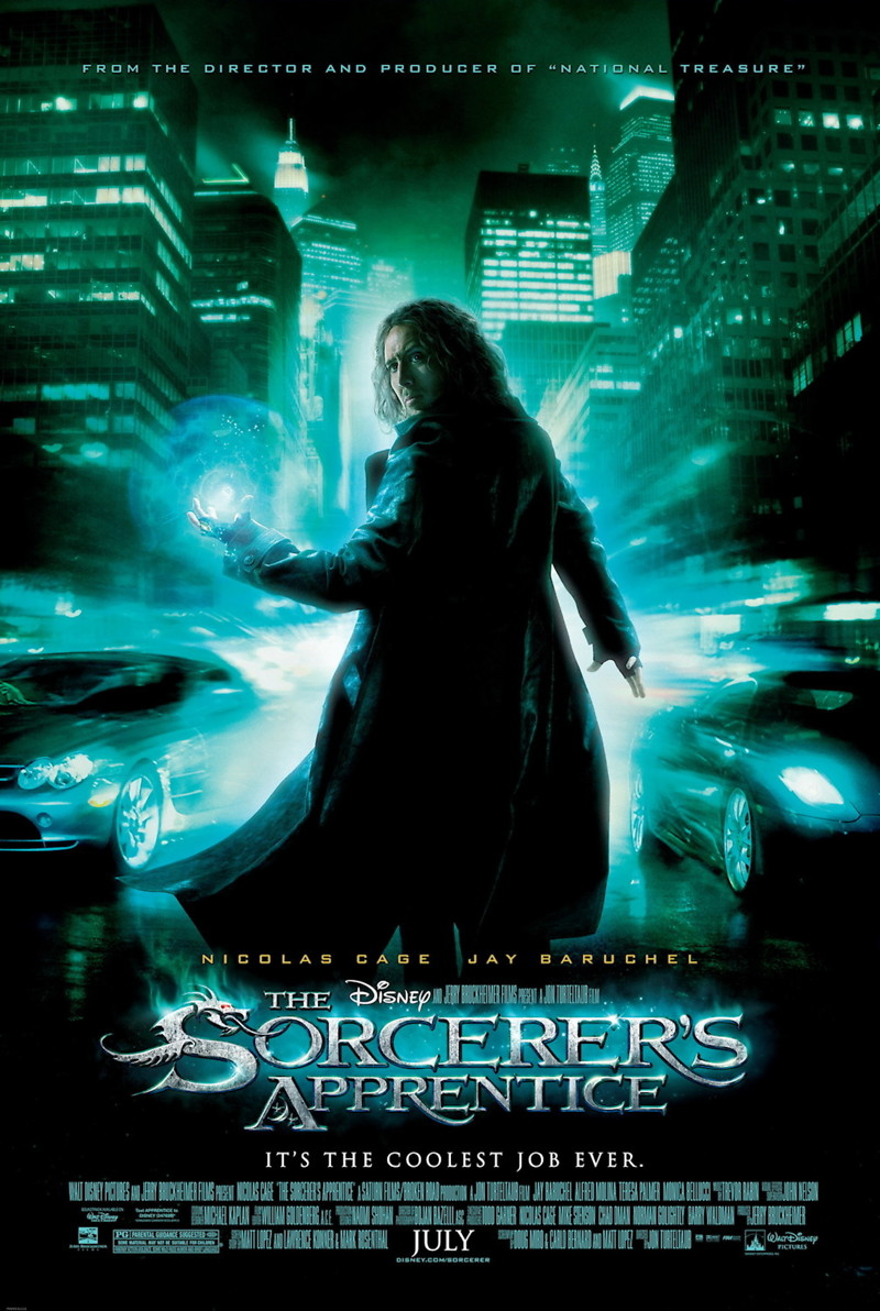 The Sorcerer's Apprentice DVD Release Date November 30, 2010