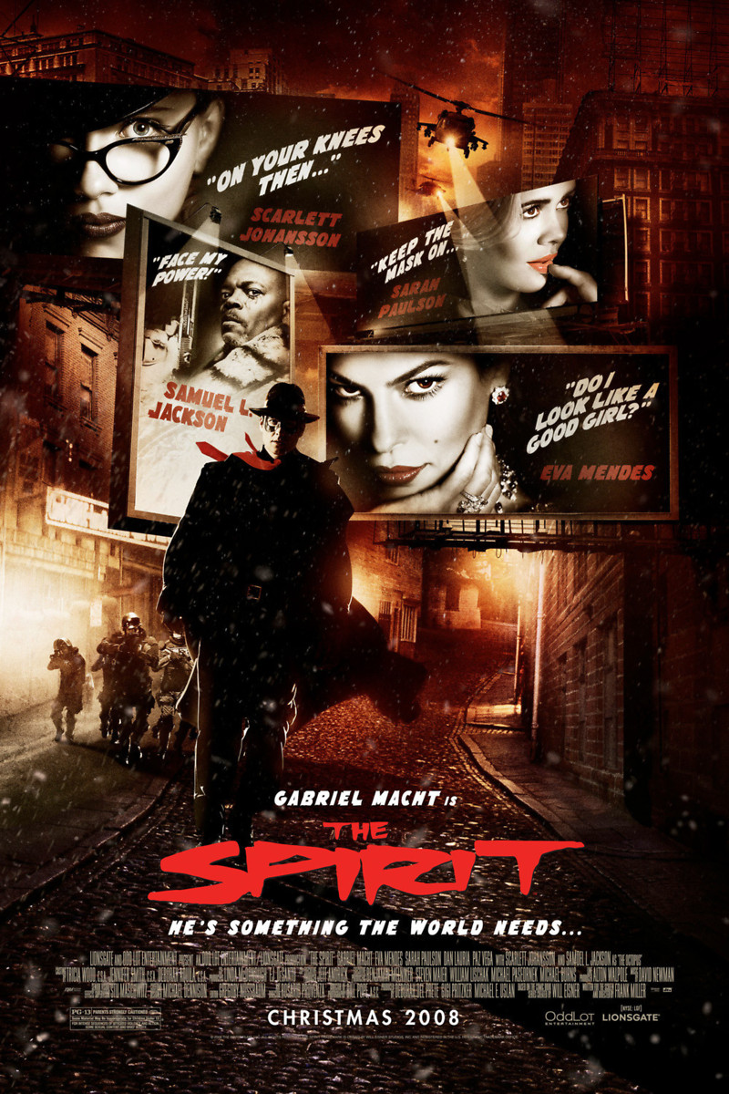 the spirit dvd release date april 14 2009