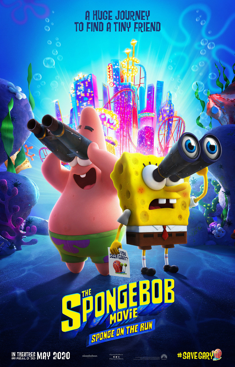 The Spongebob Movie Sponge On The Run Dvd Release Date