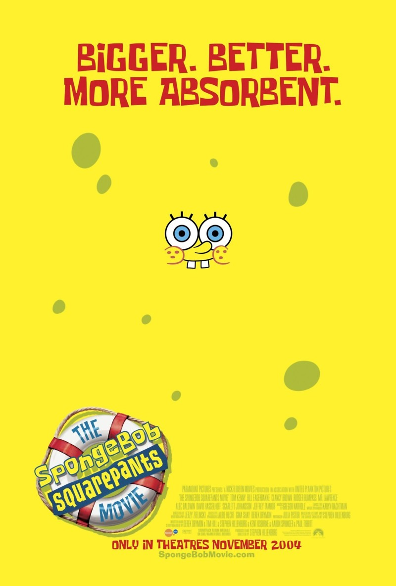The SpongeBob SquarePants Movie DVD Release Date March 1, 2005
