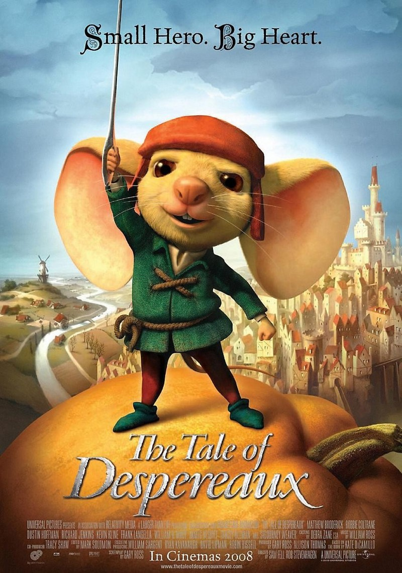 the tale of despereaux dvd release date may 9 2010