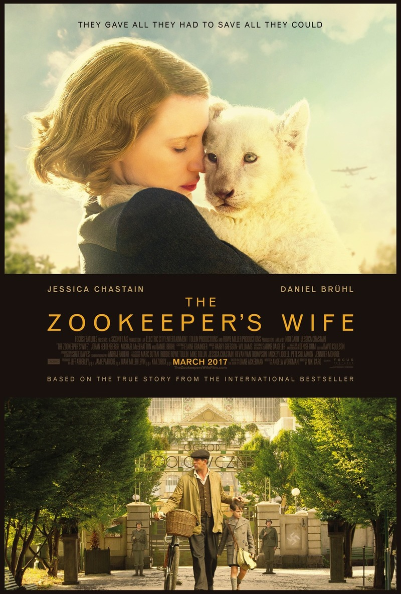 The Zookeeper's Wife DVD Release Date July 4, 2017