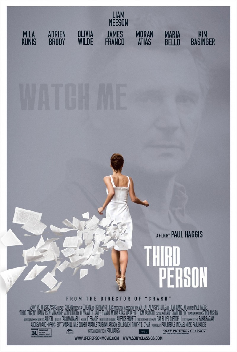 Third Person Dvd Cover