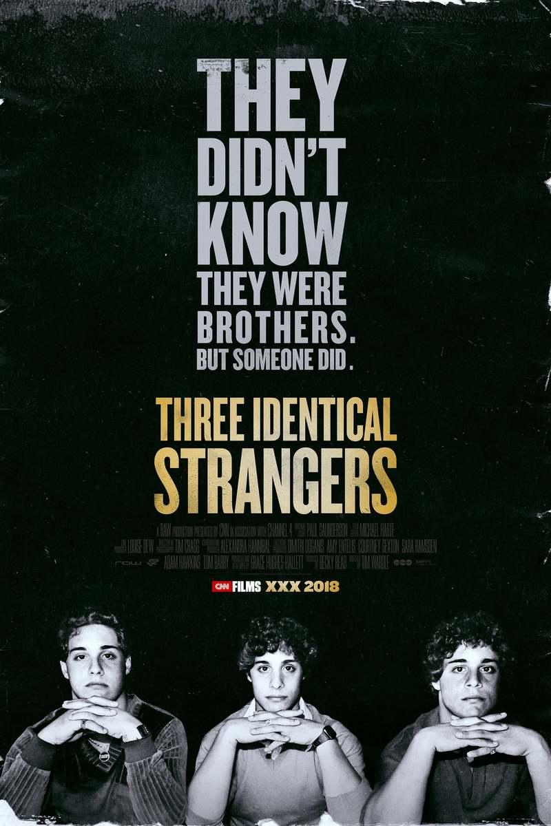 Three Identical Strangers DVD Release Date October 2, 2018