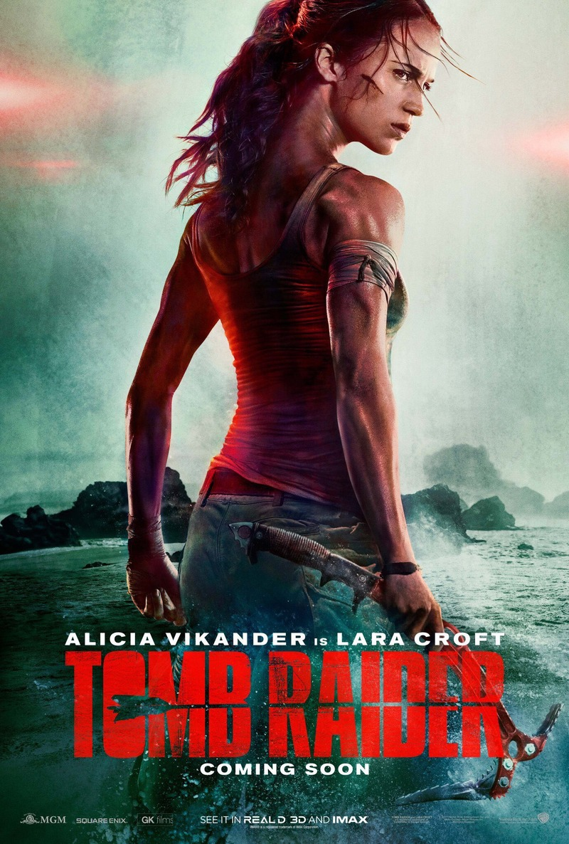 Tomb Raider DVD Release Date June 12, 2018