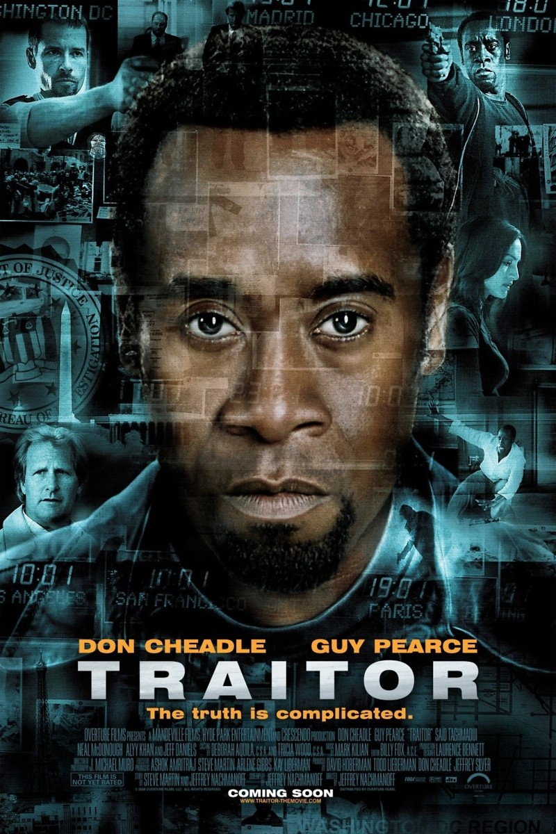 traitor dvd release date december 16 2008