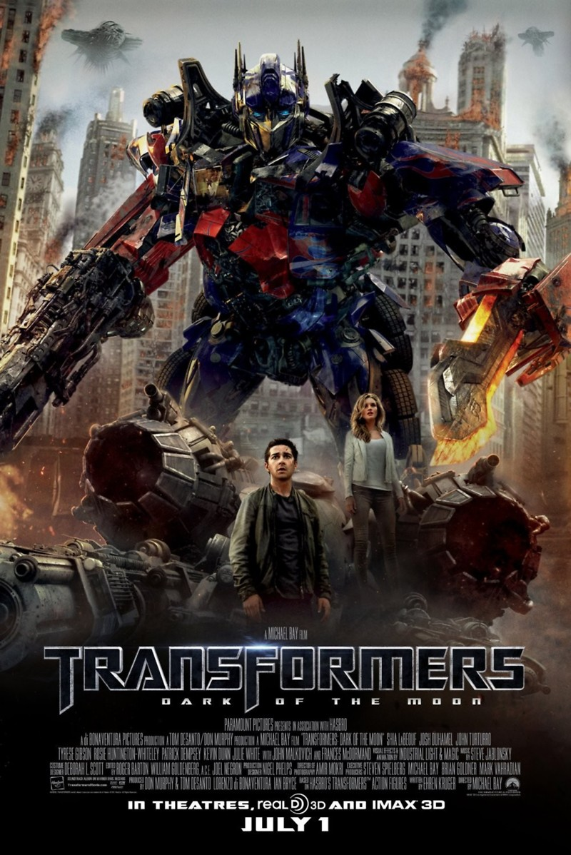 Transformers: Dark of the Moon DVD Release Date September ...