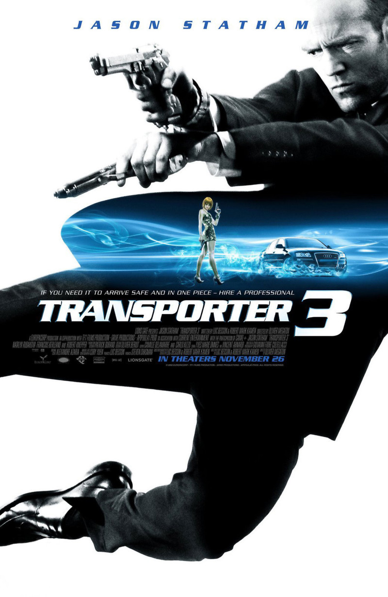 transporter 3 dvd release date march 10 2009