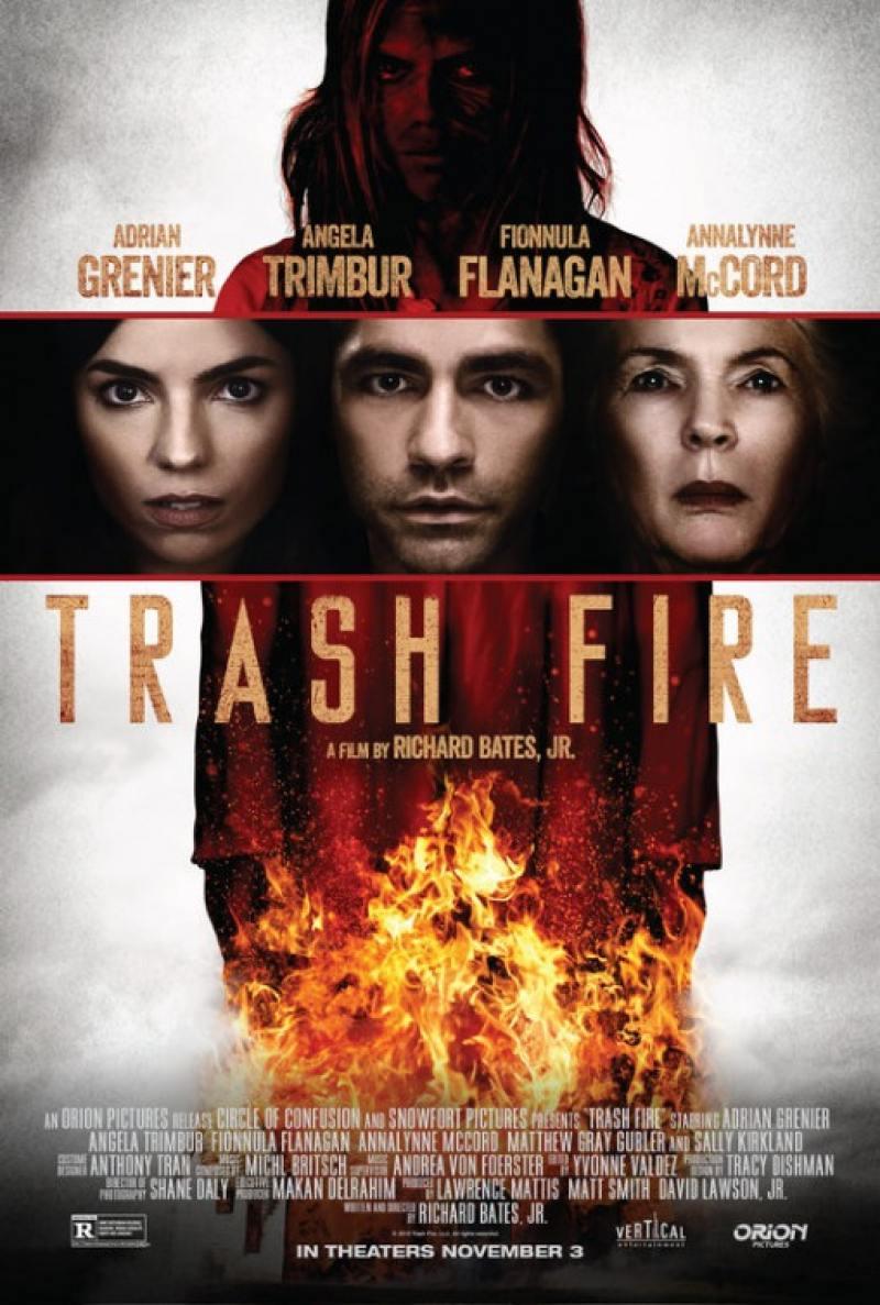 trash fire dvd release date december 6 2016