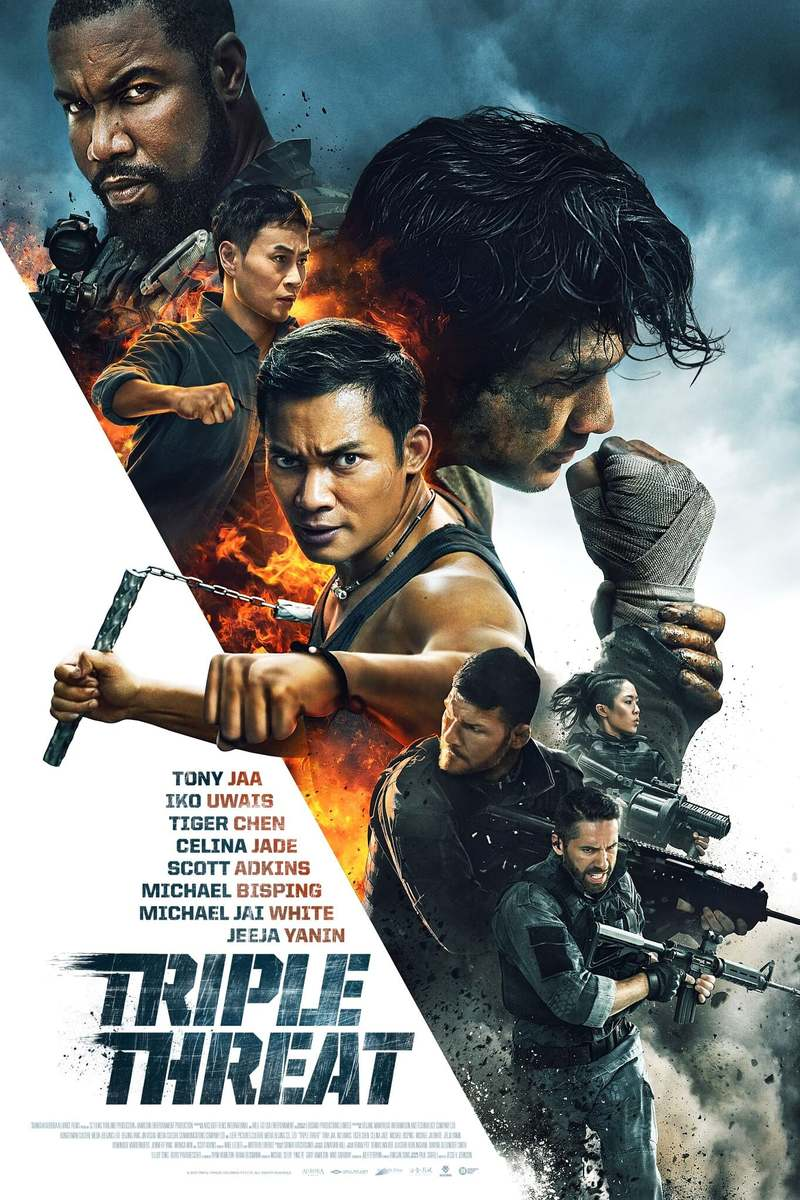 Triple Threat DVD Release Date May 14, 2019