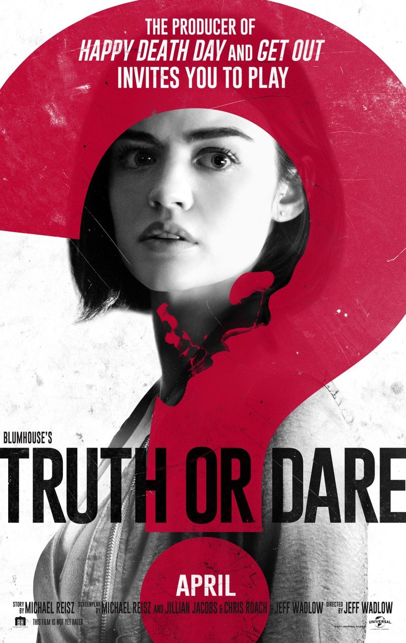 Truth Or Dare Movie Poster 2018
