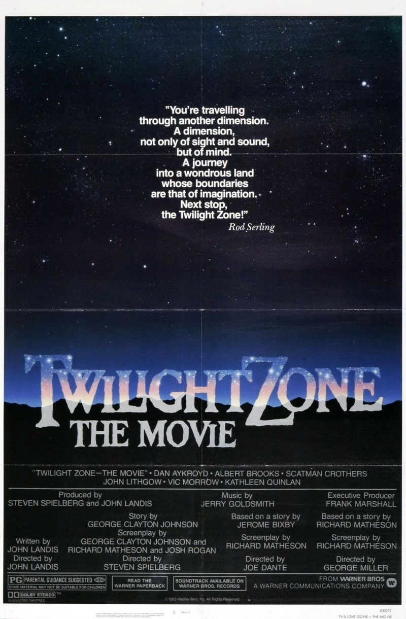 twilight zone the movie dvd release date