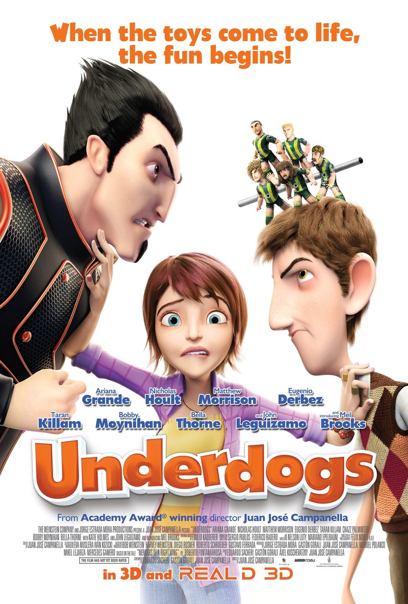 Underdogs DVD Release Date July 19, 2016