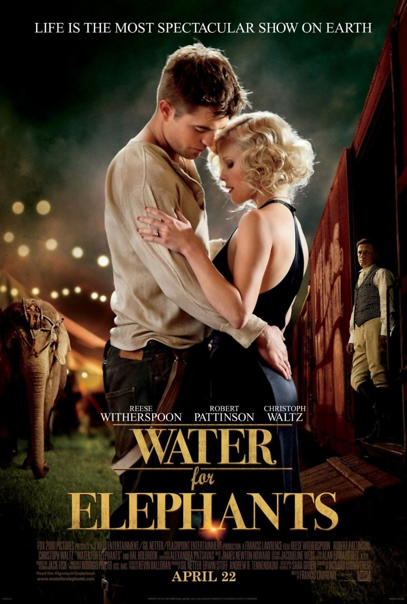 Water for elephants dvd release date november 1 2011