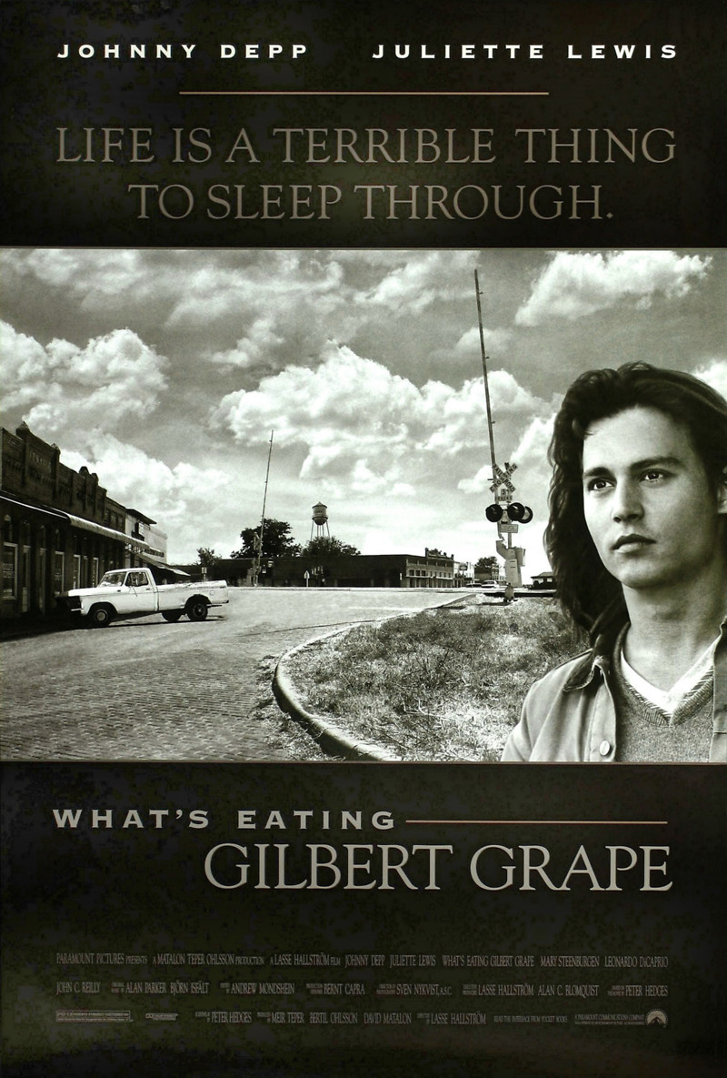 a review of the movie whats eating gilbert grape What's eating gilbert grape is an offbeat, middleweight charmer that is lent a   toronto film review: michael moore's 'fahrenheit 11/9.