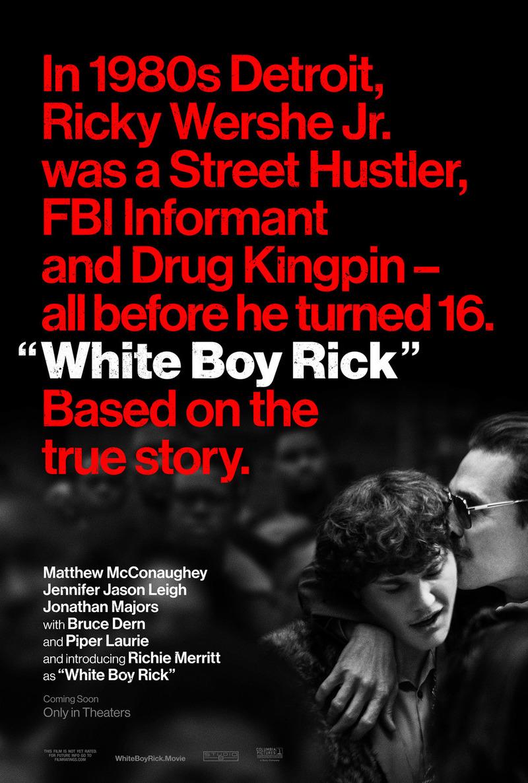White Boy Rick DVD Release Date December 25, 2018