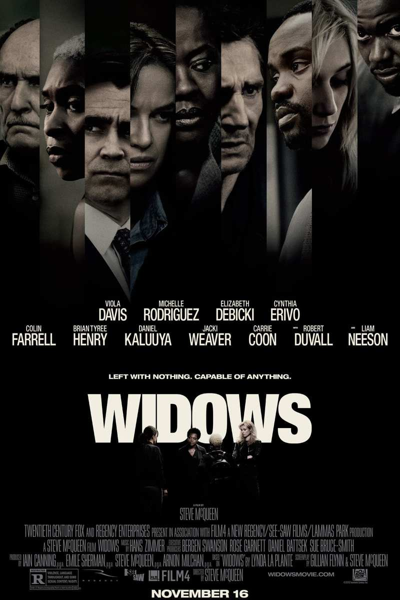 Image result for widows 2018 bluray poster