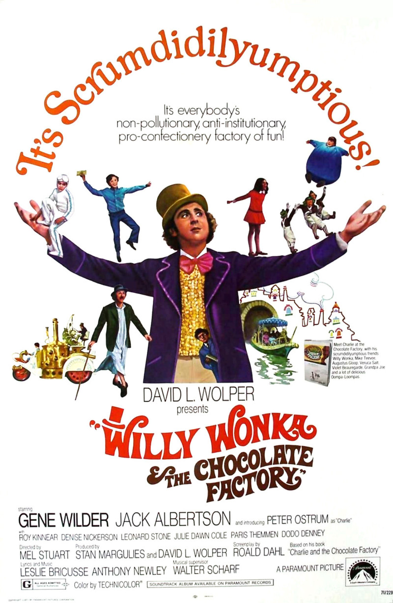 Willy-Wonka-and-the-Chocolate-Factory-1971-movie-poster jpgCharlie And The Chocolate Factory Movie Poster