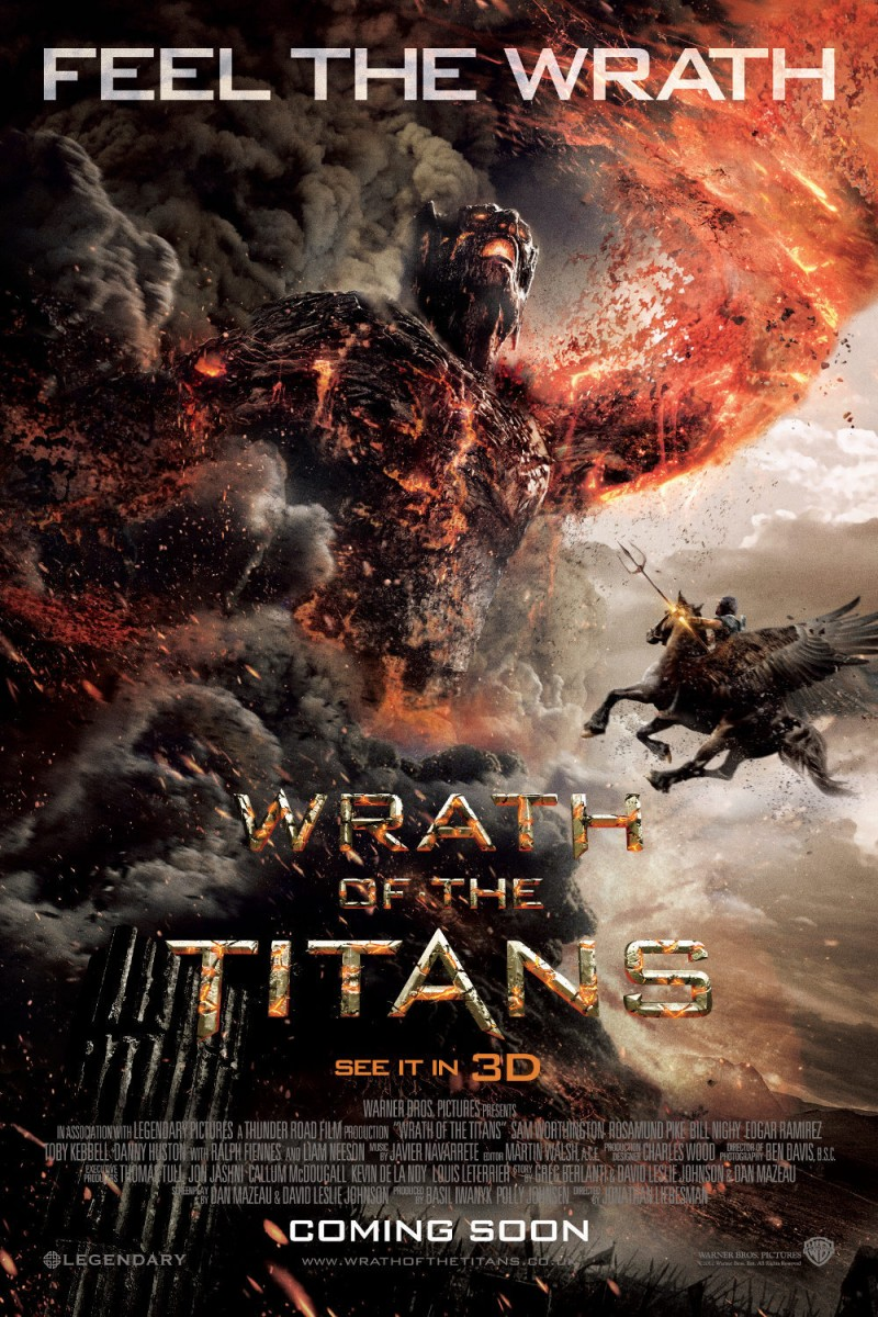 Wrath of the Titans DVD Release Date