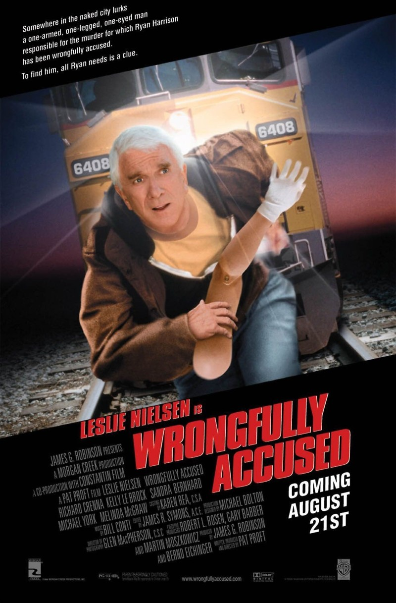 wrongfully accused dvd release date  movie poster