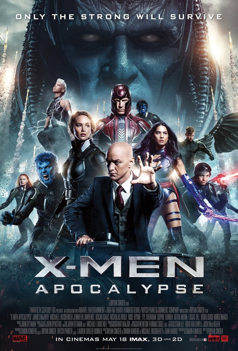 Men Apocalypse 2016 X Dvd And Blu Ray Release Date