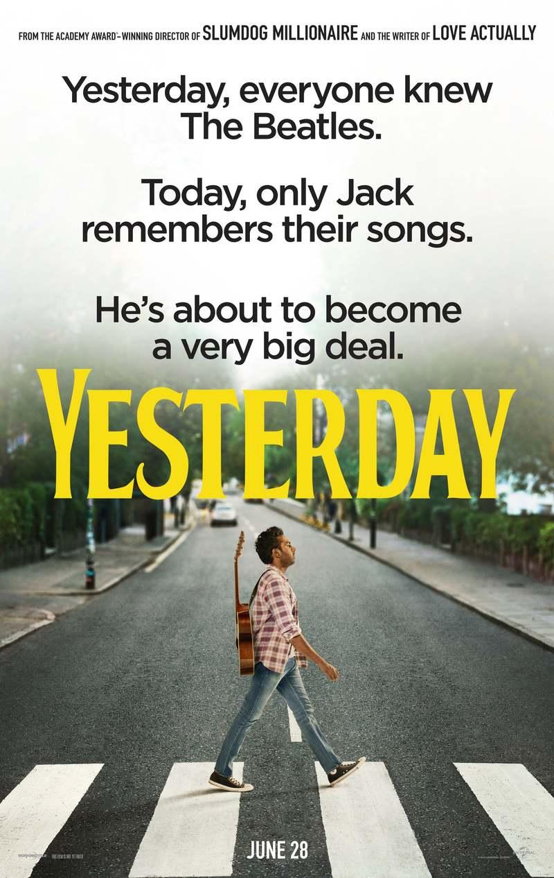 Yesterday DVD Release Date September 24, 2019